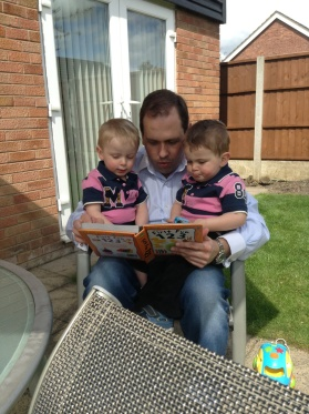 Last day in May 2013 I was allowed a normal couple of hours with my boys ...
