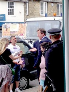 Chris Tompson met with David Cameron in Witney earlier this month