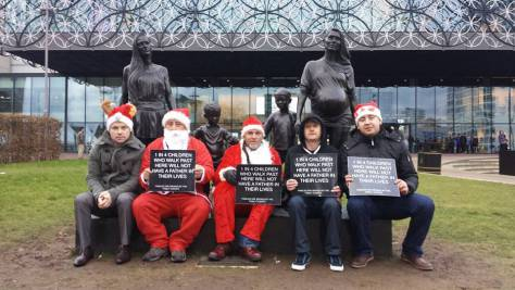 Santa Protest